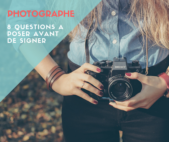 Photographe question