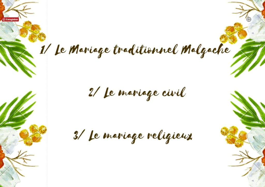 mariage traditionnel malagasy